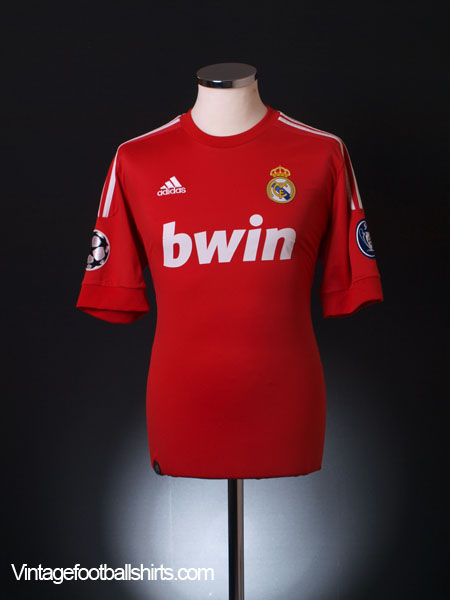 884188ede 2011-12 Real Madrid CL Third Shirt M for sale