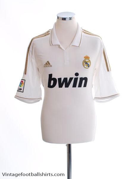 2011-12 Real Madrid Home Shirt XL - V13659