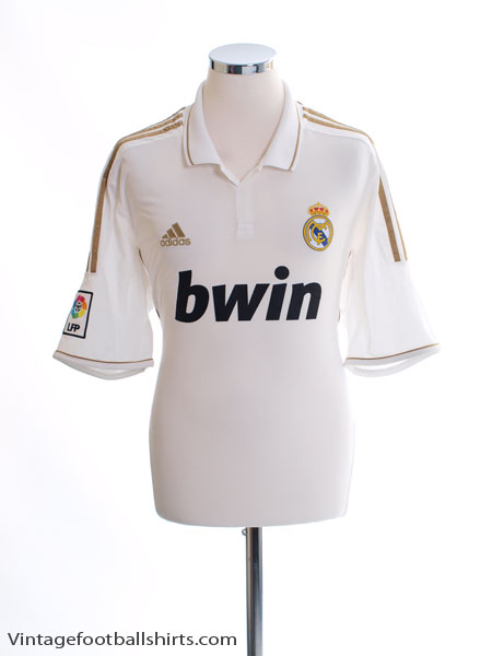 2011-12 Real Madrid Home Shirt M - V13659