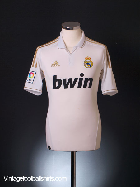 2011-12 Real Madrid Home Shirt S