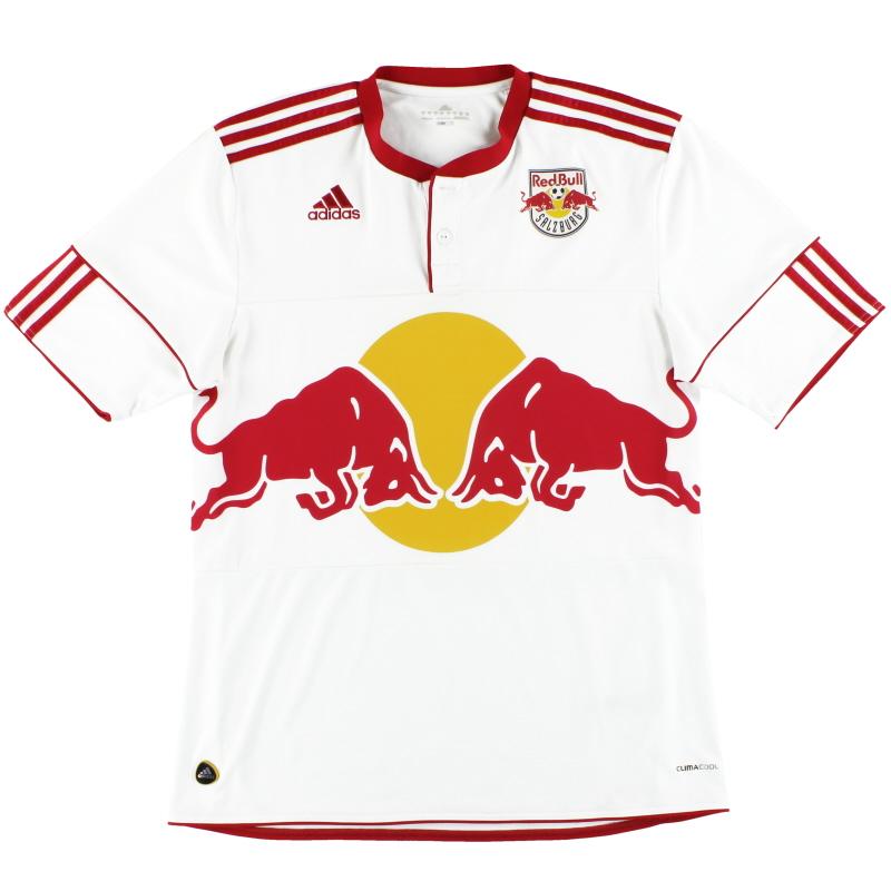 2011-12 Red Bull Salzburg adidas Home Shirt L - P99276