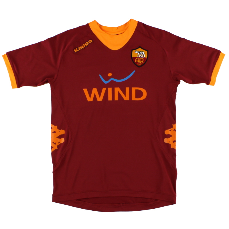 2011-12 Roma Home Shirt M