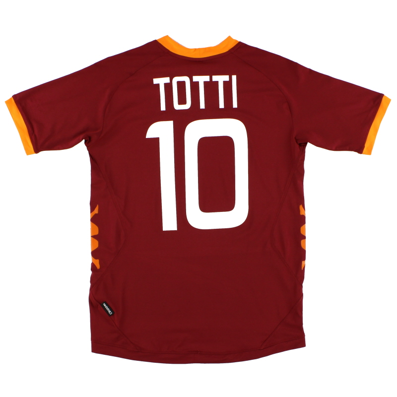 2011-12 Roma Home Shirt Totti #10 XL.Boys