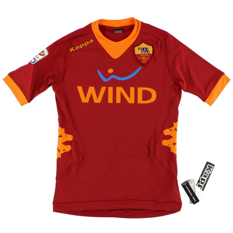 2011-12 Roma Home Shirt *w/tags* S - 301CUS0