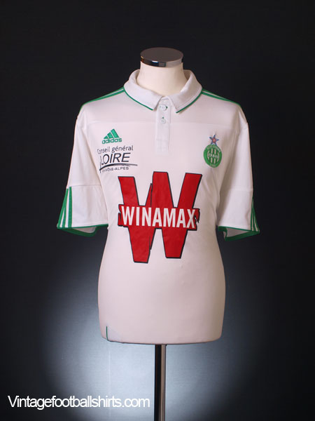 2011-12 Saint Etienne Away Shirt L
