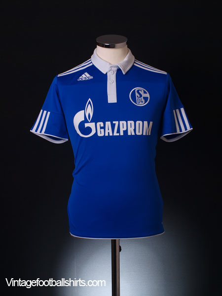 2011-12 Schalke Home Shirt *Mint* XL.Boys