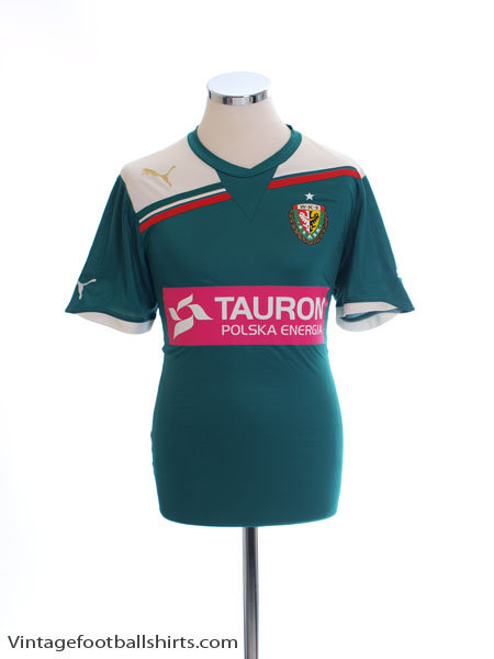 2011-12 Slask Wroclaw Home Shirt M - 741658