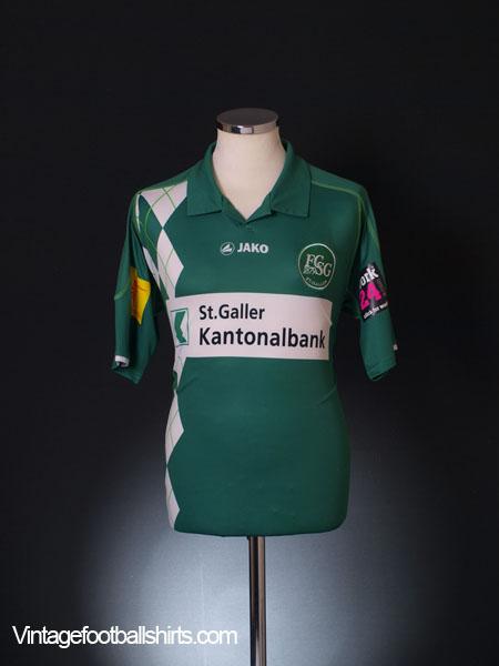 2011-12 St Gallen Home Shirt M