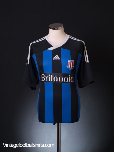 2011-12 Stoke City Away Shirt L