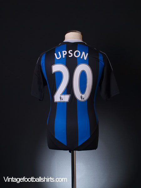 2011-12 Stoke City Away Shirt Upson #20 S