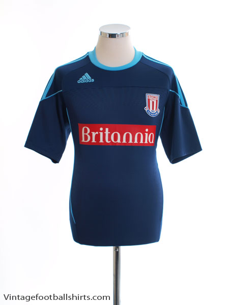 2011-12 Stoke City Formotion European Shirt *Mint* M - O08520