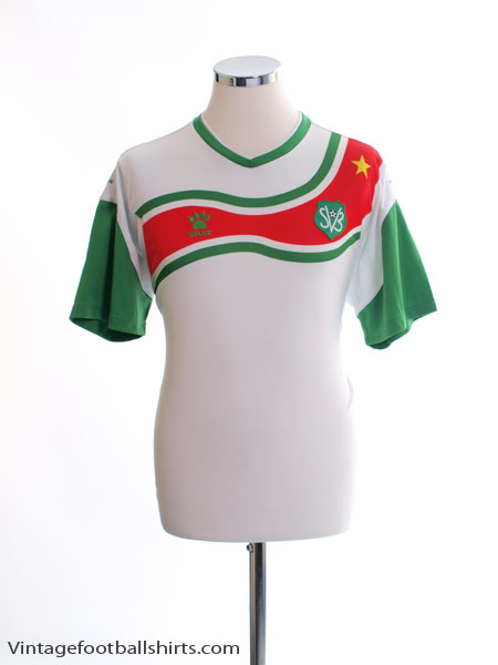 2011-12 Suriname Home Shirt L