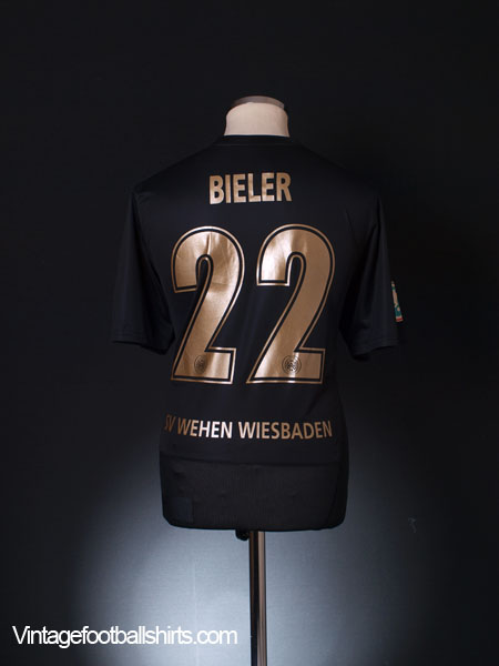 2011-12 SV Wehen Wiesbaden Bieler #22 L
