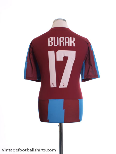 2011-12 Trabzonspor Home Shirt Burak #17 L