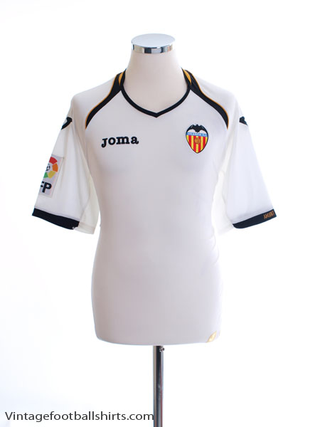 2011-12 Valencia Home Shirt L
