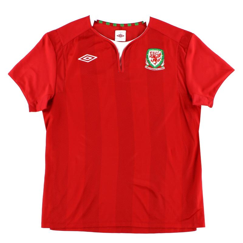 2011-12 Wales Home Shirt L
