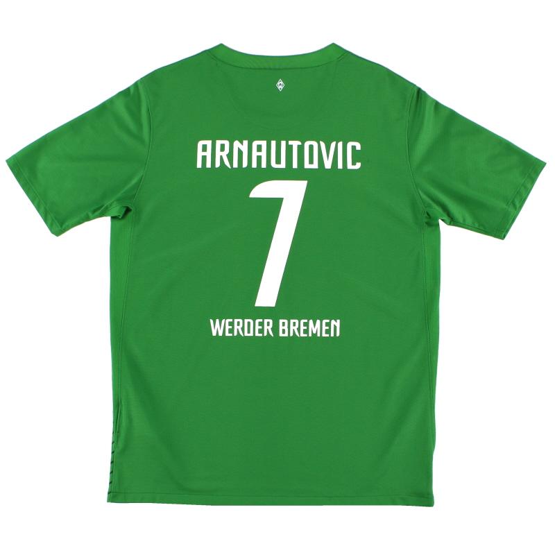 2011-12 Werder Bremen Home Shirt Arnautovic #7 XL.Boys - 419531-377