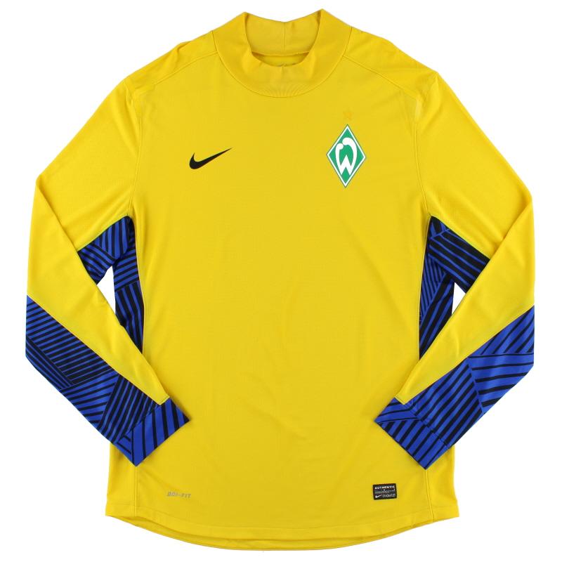 2011-12 Werder Bremen Player Issue Goalkeeper Shirt XL