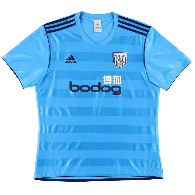 2011-12 West Brom Away Shirt L - O07595