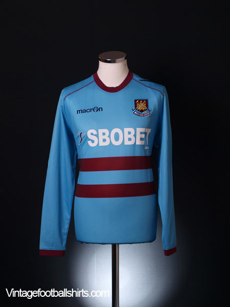 2011-12 West Ham Away Shirt *BNWT* L/S S