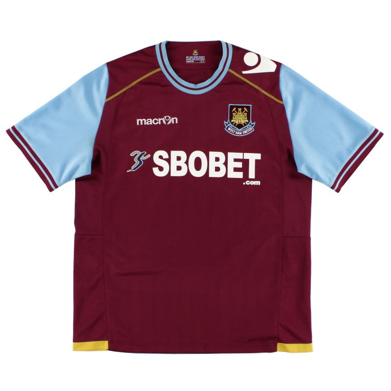 2011-12 West Ham Home Shirt *Mint* L