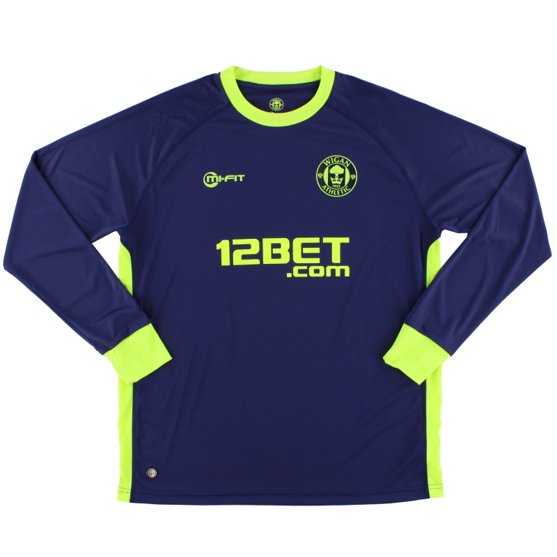 2011-12 Wigan Away Shirt L/S XL