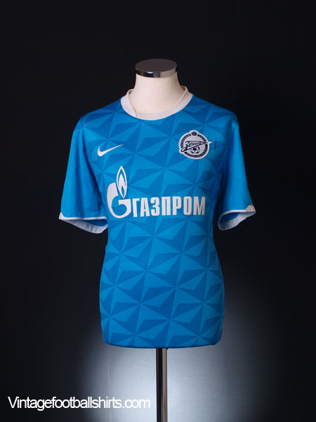 2011-12 Zenit St. Petersburg Home Shirt L