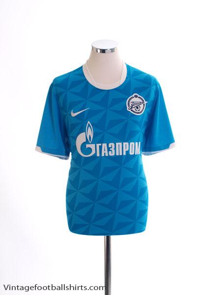 2011-12 Zenit St. Petersburg Home Shirt *Mint* M
