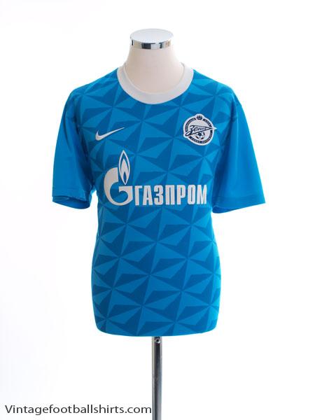 2011-12 Zenit St. Petersburg Basic Home Shirt L