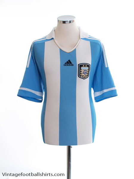 2011-13 Argentina Home Shirt *Mint* L - V32111
