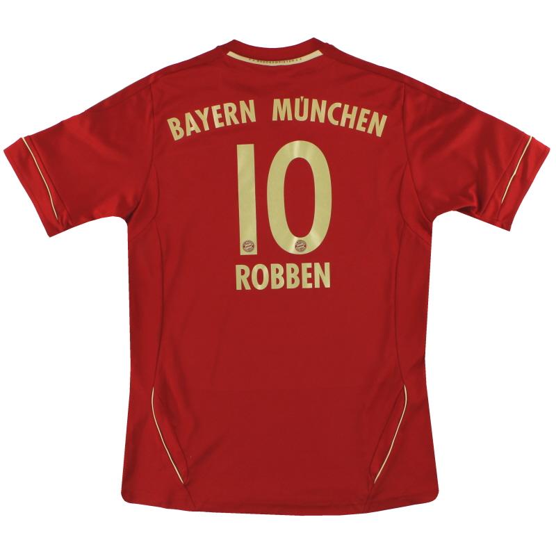 2011-13 Bayern Munich adidas Home Shirt Robben #10 *Mint* Y - V13488