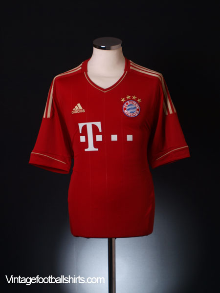 2011-13 Bayern Munich Home Shirt S
