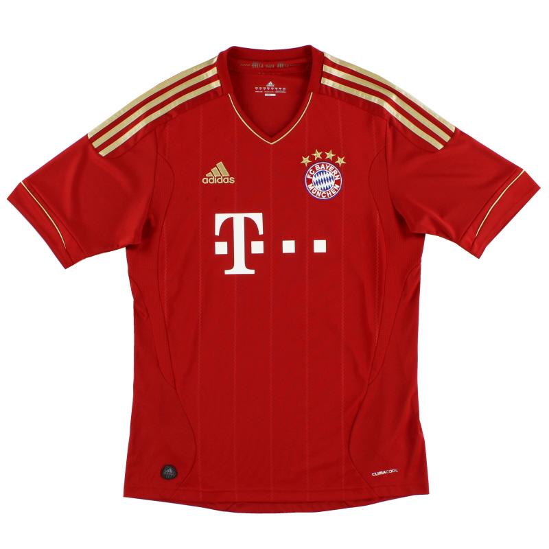2011-13 Bayern Munich adidas Home Shirt S