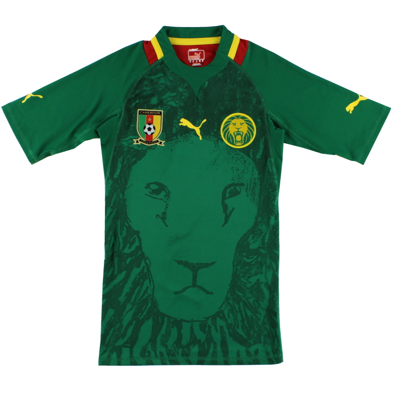 2011-13 Cameroon Player Issue Home Shirt *As New* M - 740189