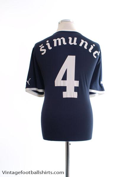 2011-13 Dinamo Zagreb European Shirt Simunic #4 XXL - 741236