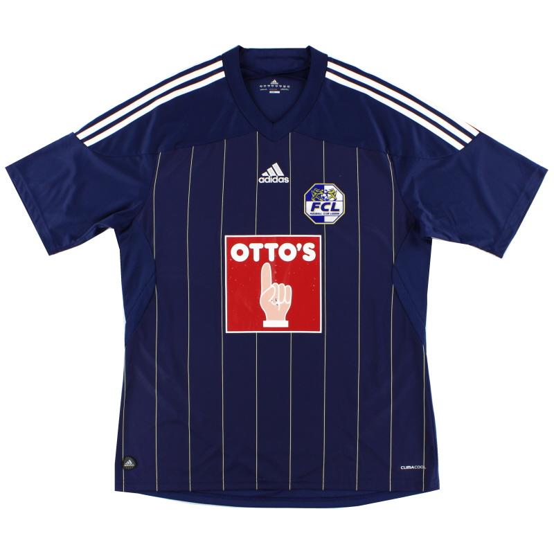 2011-13 FC Luzern Home Shirt L - U37439