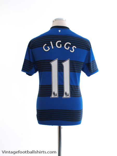 2011-13 Manchester United Away Shirt Giggs #11 M - 423935-403