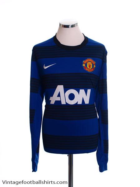 2011-13 Manchester United Away Shirt L/S M.Boys - 423962-403