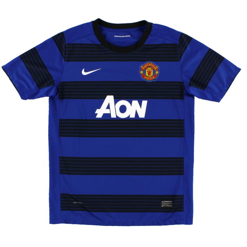 2011-13 Manchester United Nike Away Shirt XL.Boys - 423961-403