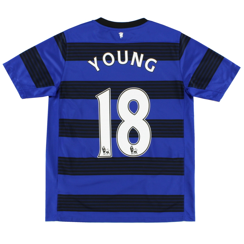 2011-13 Manchester United Away Shirt Young #18 XL.Boys - 423961-403