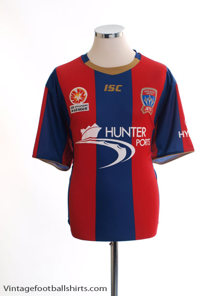 2011-13 Newcastle Jets Home Shirt *Mint* XXL