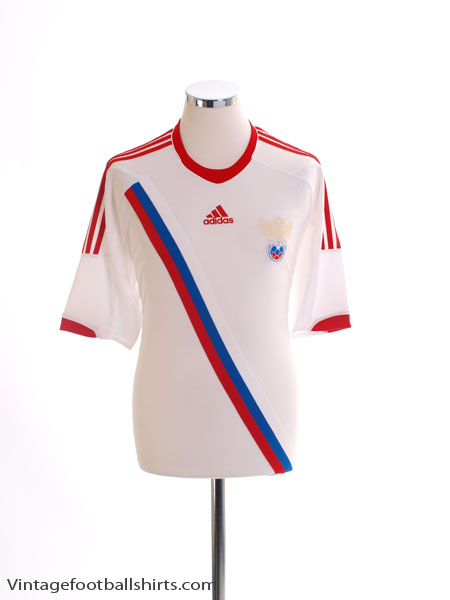 2011-13 Russia Away Shirt *Mint* M
