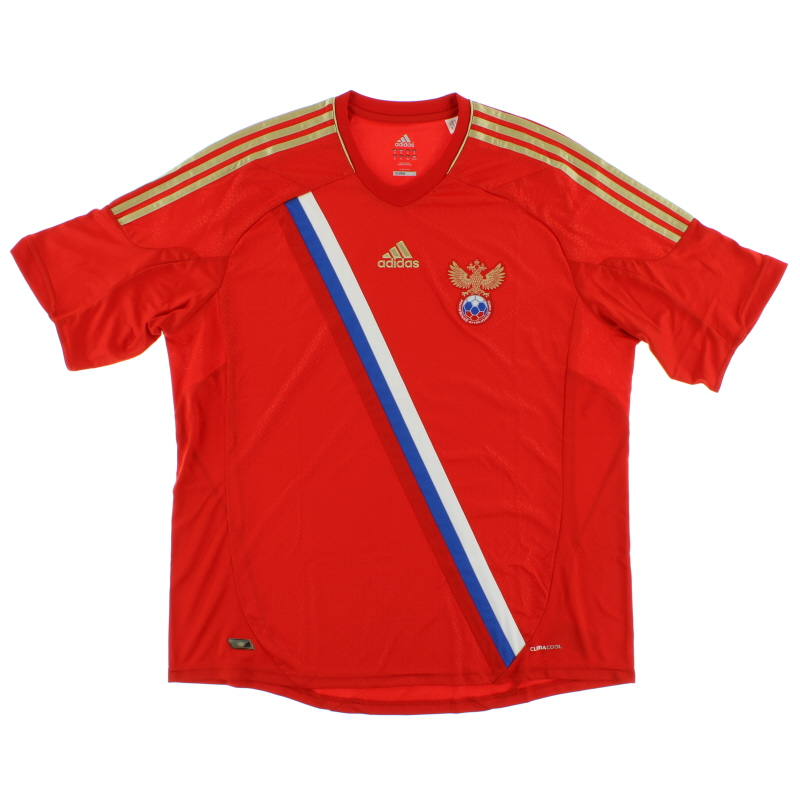 2011-13 Russia Home Shirt *Mint* XL