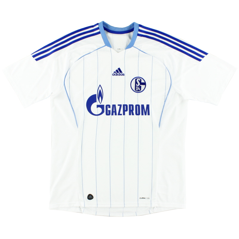 2011-13 Schalke Away Shirt *Mint* XL