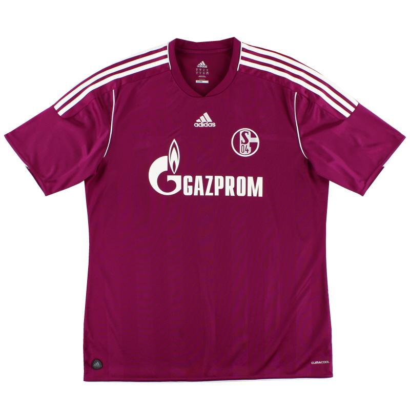 2011-13 Schalke Third Shirt *Mint* XL - V13391