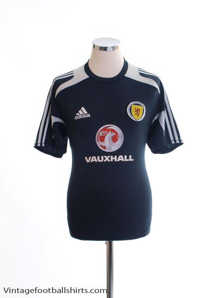 2011-13 Scotland Formotion Training Shirt M
