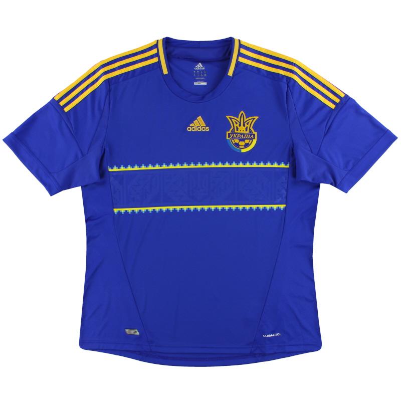 2011-13 Ukraine adidas Away Shirt *Mint* S - X11605