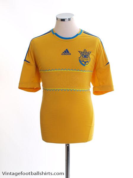 2011-13 Ukraine Home Shirt M
