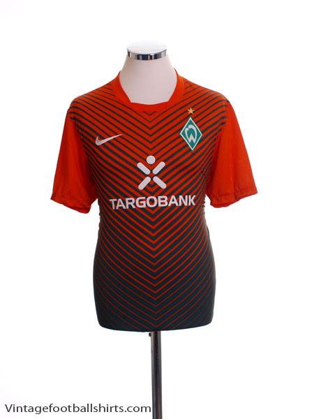 2011-13 Werder Bremen Home Shirt M
