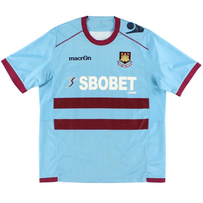 2011-13 West Ham Away Shirt XL